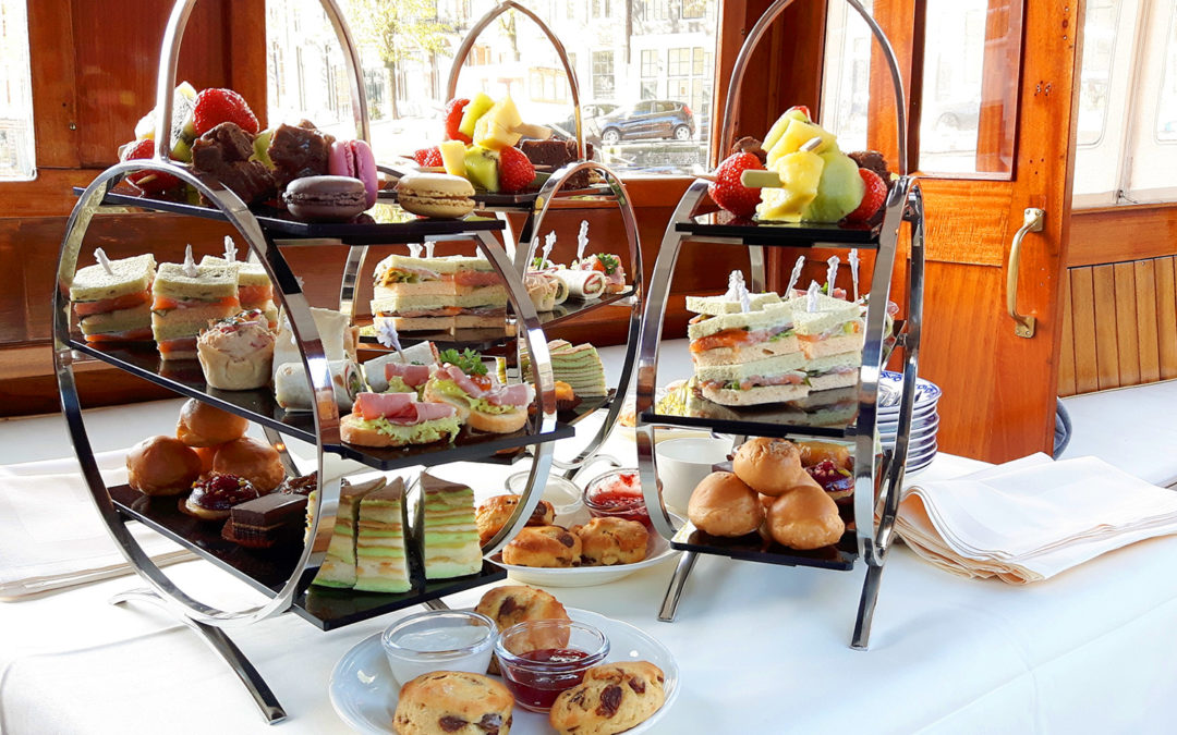 High tea vaartocht Amsterdam