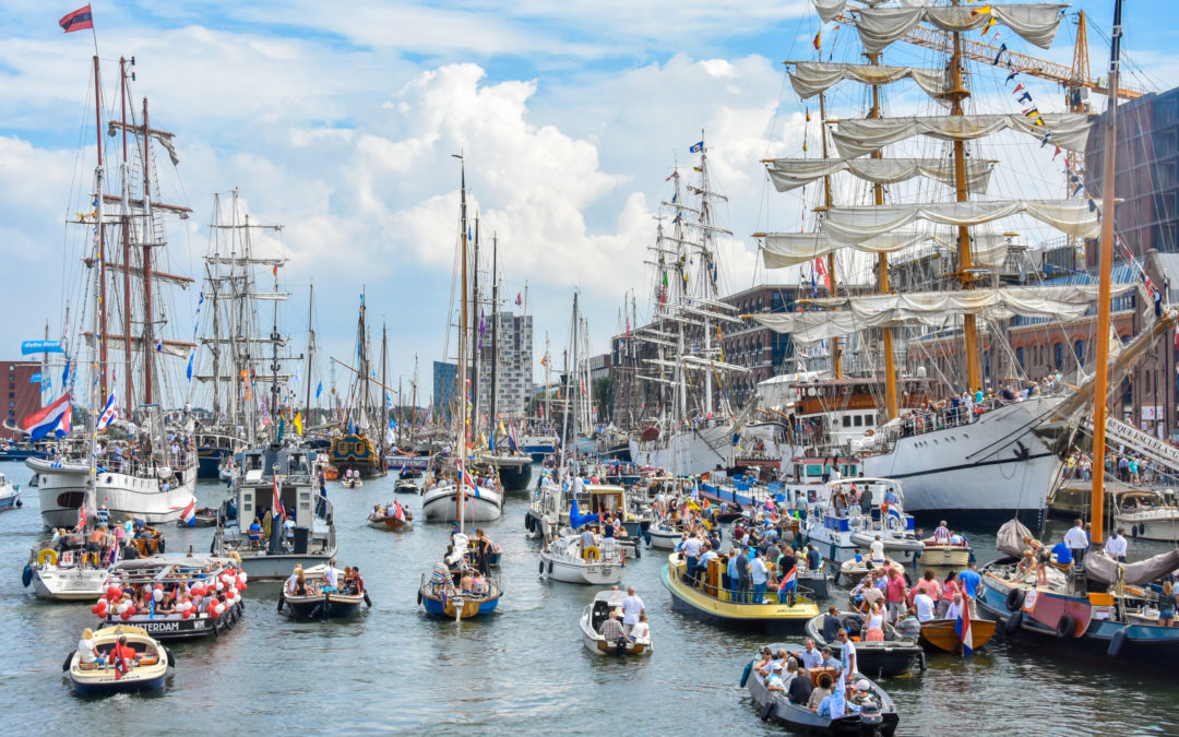 salonboot huren Amsterdam tijdens SAIL 2020